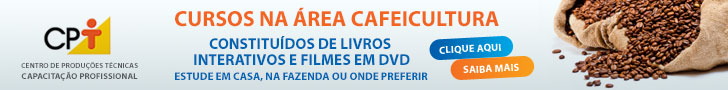 Cursos sobre cafeicultura do CPT - Centro de Produções Técnicas